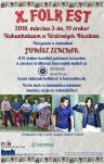 X. jubileumi Folk Est Kiskunhalason